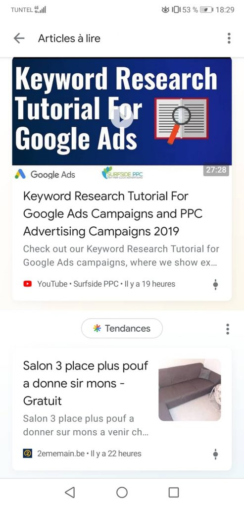 Videos are engaging on Google Discover